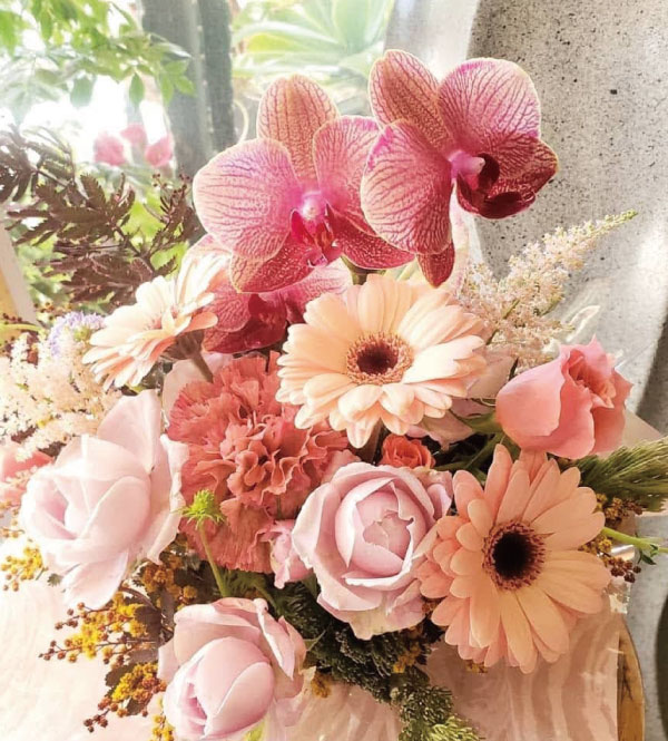 豊橋市 フラワーアレンジメント 入学祝い 開業祝い 母の日 父の日